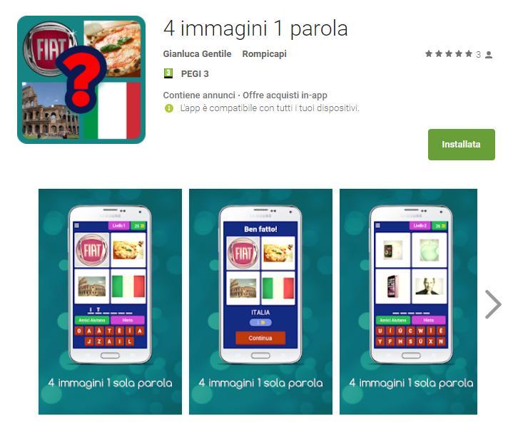 - 4 immagini 1 parola App Android su Google Play - 4 Immagini 1 Parola