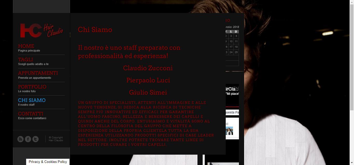 hair claudio - Chi Siamo Hair Claudio Gianluca Gentile 03 - Hair Claudio