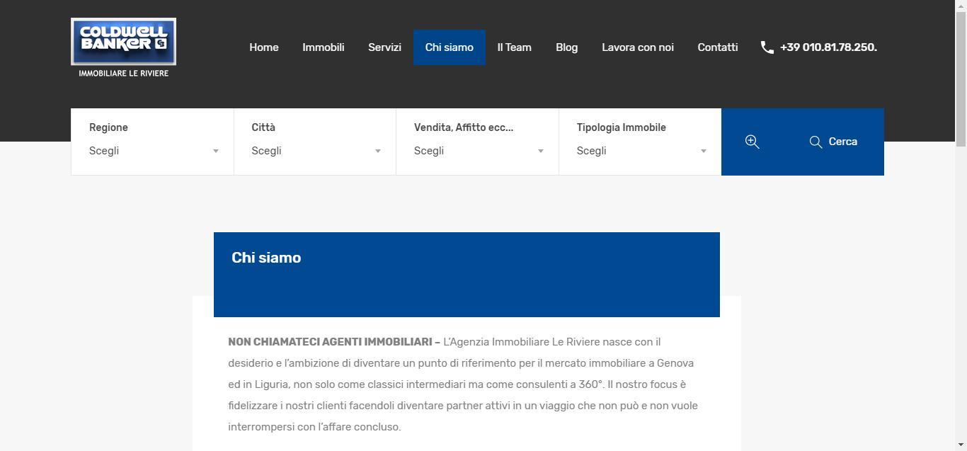 - Chi siamo Coldwell Banker Case a Genova Gianluca Gentile 03 - Coldwell Banker Le Riviere – Case a Genova