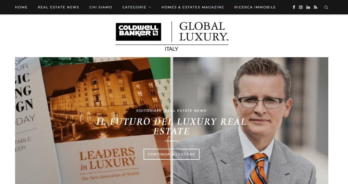 - Coldwell Banker   Global Luxury Italy Gianluca Gentile 01 1200x637 - Coldwell Banker Luxury