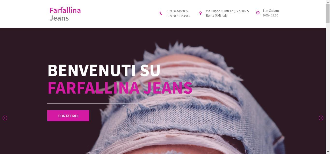 - Farfallina Jeans FARFALLINA JEANS Gianluca Gentile 01 - Farfallina Jeans