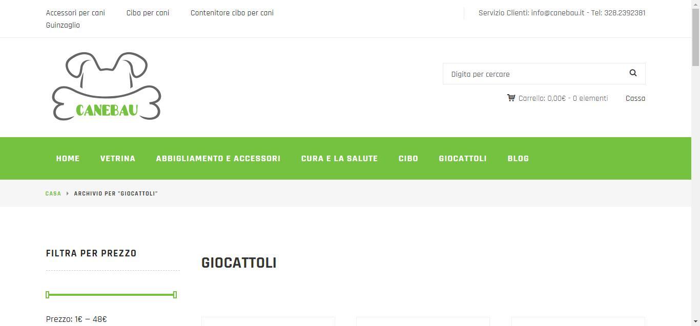 - Giocattoli     CaneBau Gianluca Gentile 03 - CaneBau