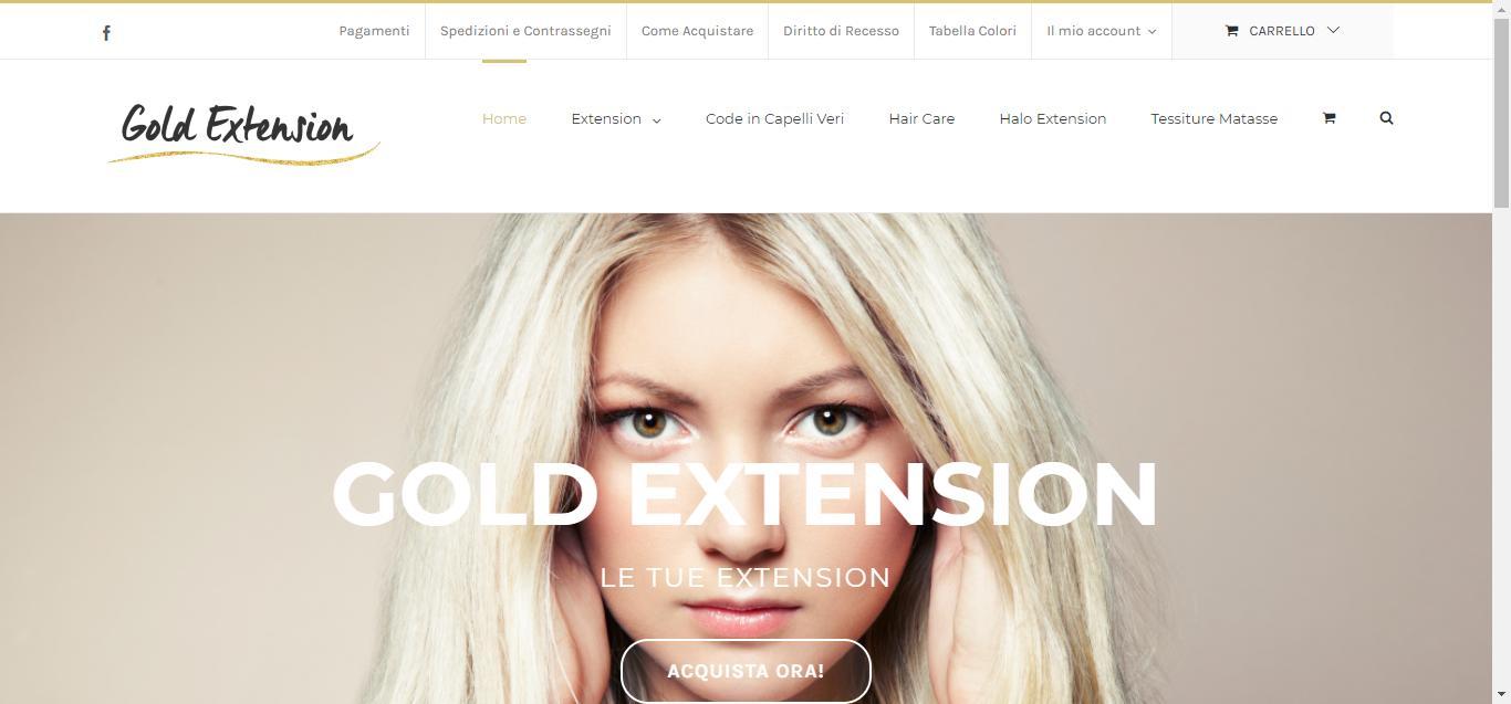 - Gold Extension     Capelli veri a prezzi imbattibili Gianluca Gentile 01 - Gold Extension