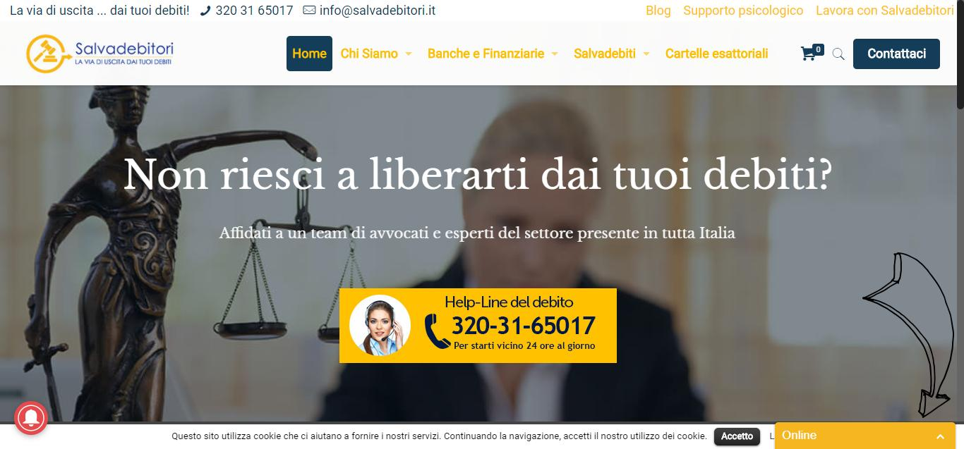 - Home Page Gianluca Gentile 01 - Salvadebitori