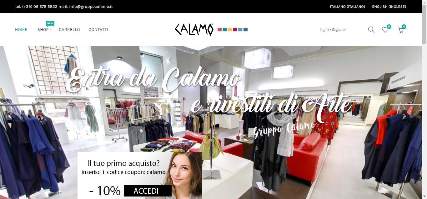 - Home base Gruppo Calamo Gianluca Gentile 01 - Gruppo Calamo