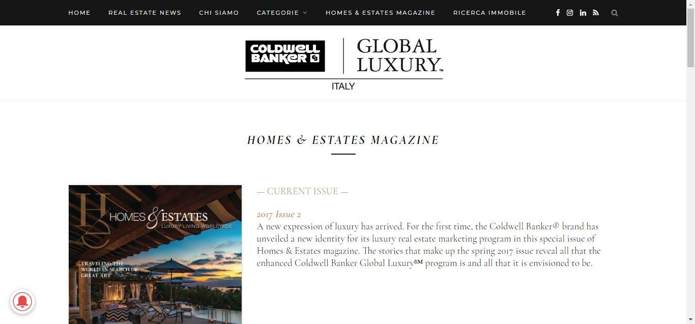 - Homes Estates Magazine   Coldwell Banker   Global Luxury Italy Gianluca Gentile 03 - Coldwell Banker Luxury