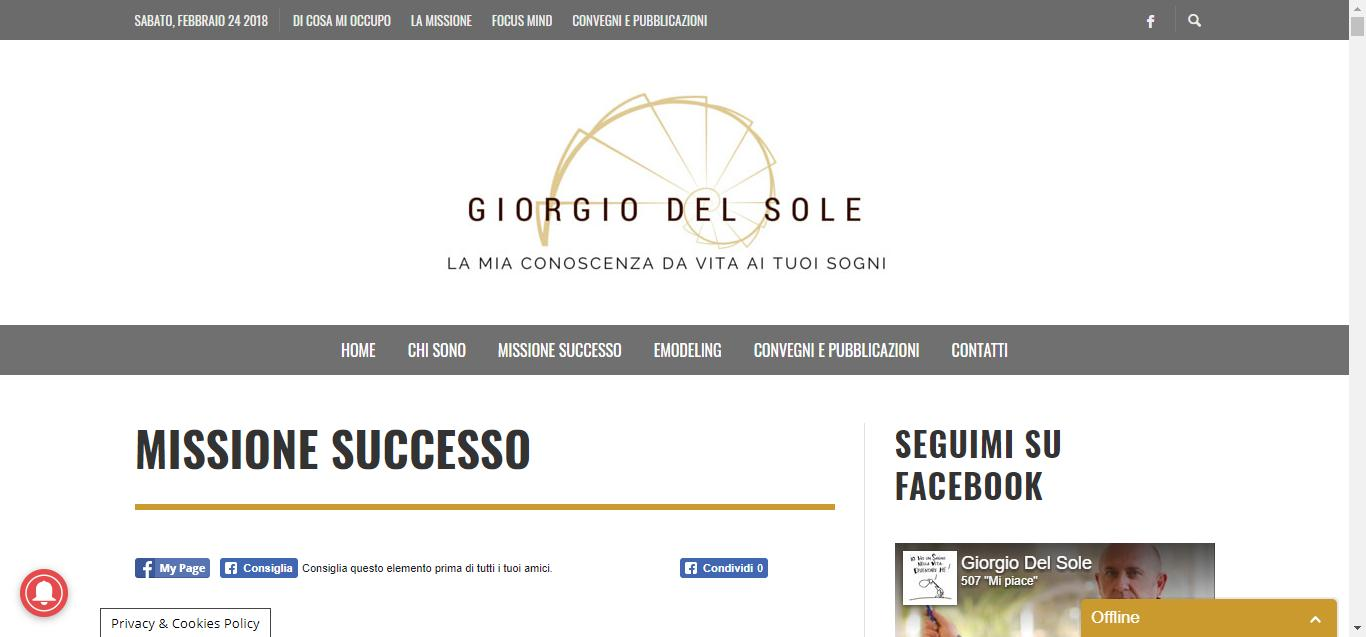 giorgio del sole - Missione Successo Giorgio Del Sole Gianluca Gentile 03 - Giorgio Del Sole