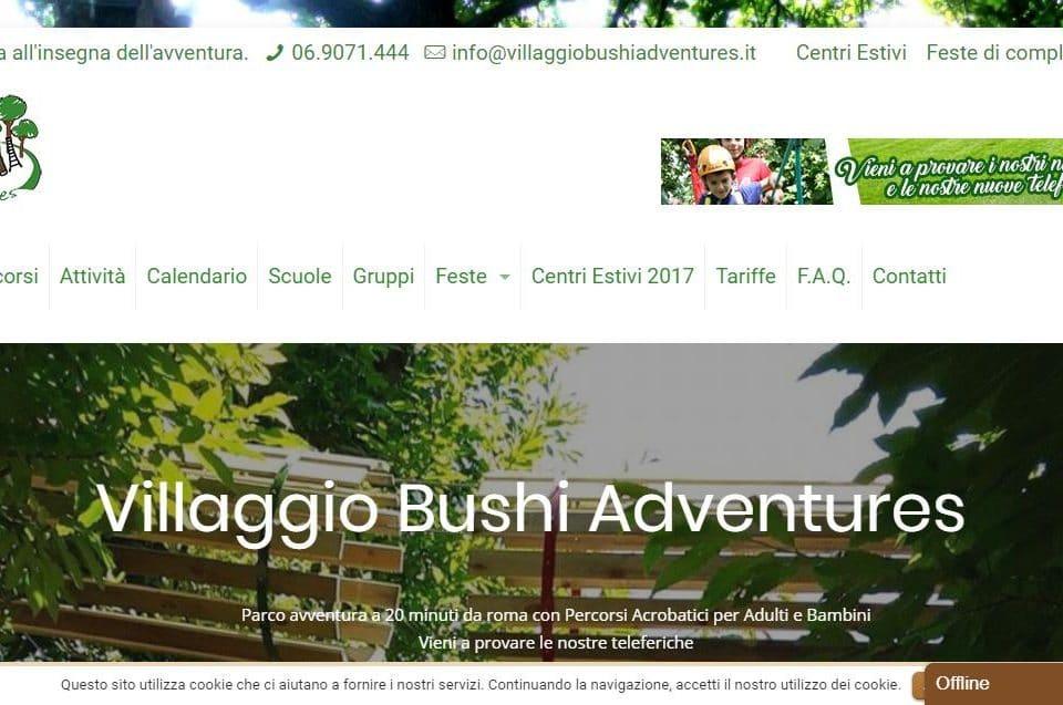 Villaggio Bushi Adventures Morlupo - Parco Avventura   Villaggio Bushi Adventures Morlupo   Roma Nord Gianluca Gentile 01 960x637 - Villaggio Bushi Adventures Morlupo