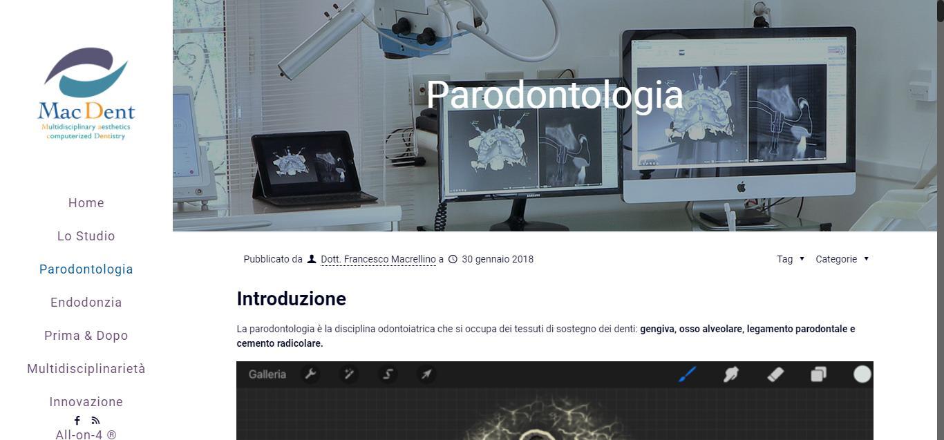 - Parodontologia     Mac Dent Gianluca Gentile 03 - Mac Dent