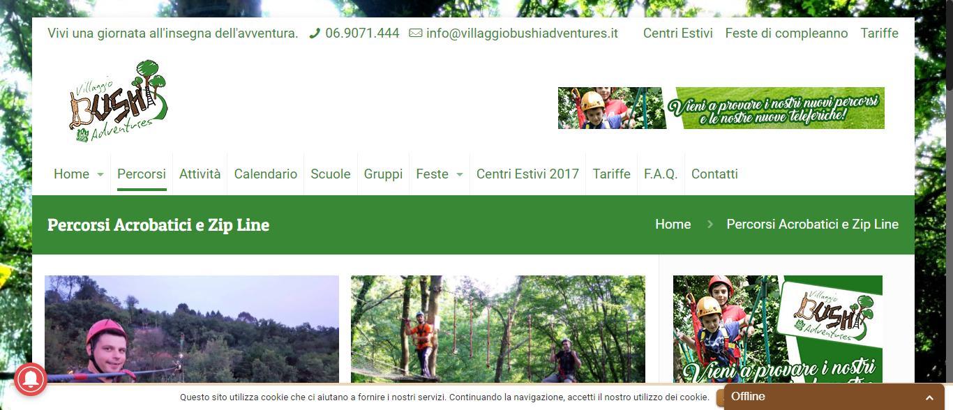 villaggio bushi adventures morlupo - Percorsi Parco Avventura Bushi Morlupo Villaggio Bushi Adventures Gianluca Gentile 02 - Villaggio Bushi Adventures Morlupo