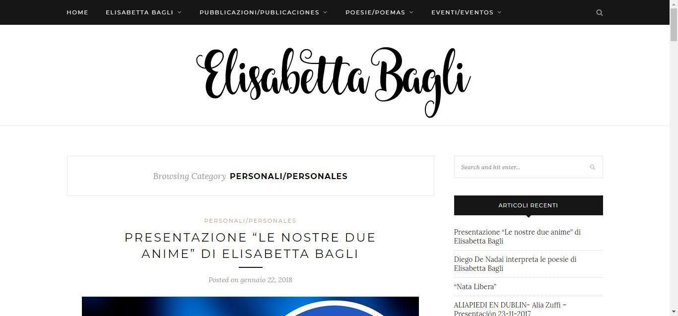 - Personali Personales     Elisabetta Bagli Gianluca Gentile 03 - Elisabetta Bagli
