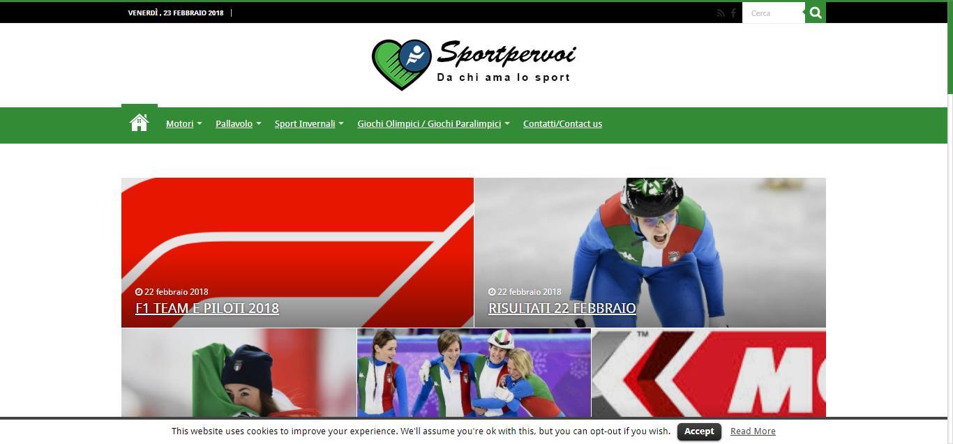 - Sportpervoi Lo sport scritto col cuore Gianluca Gentile 01 - Sportpervoi