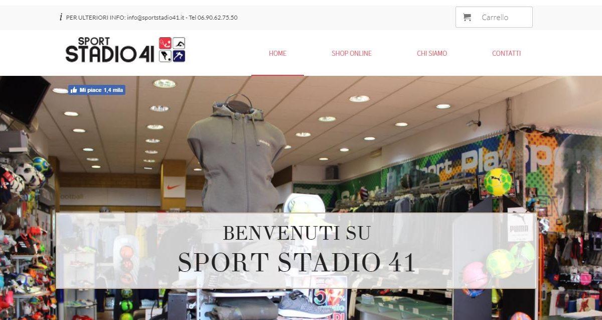 Sport Stadio 41 - home Sport Stadio 41 Monterotondo Negozio di Abbigliamento Gianluca Gentile 01 1200x637 - Sport Stadio 41