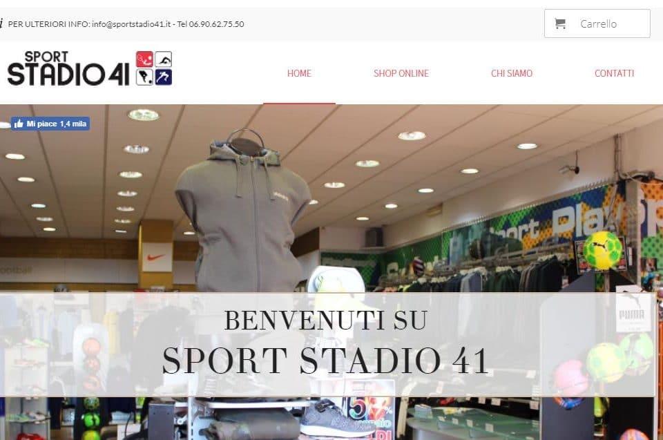 Sport Stadio 41 - home Sport Stadio 41 Monterotondo Negozio di Abbigliamento Gianluca Gentile 01 960x637 - Sport Stadio 41
