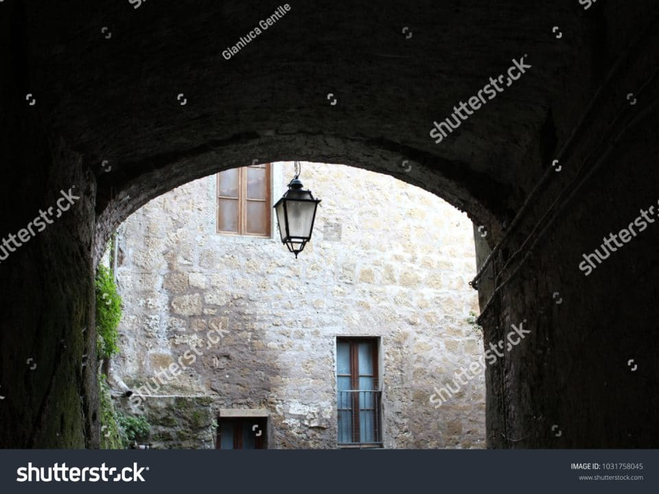 - stock photo a small avenue of the historical center 1031758045 960x720 - A small avenue of the historical center