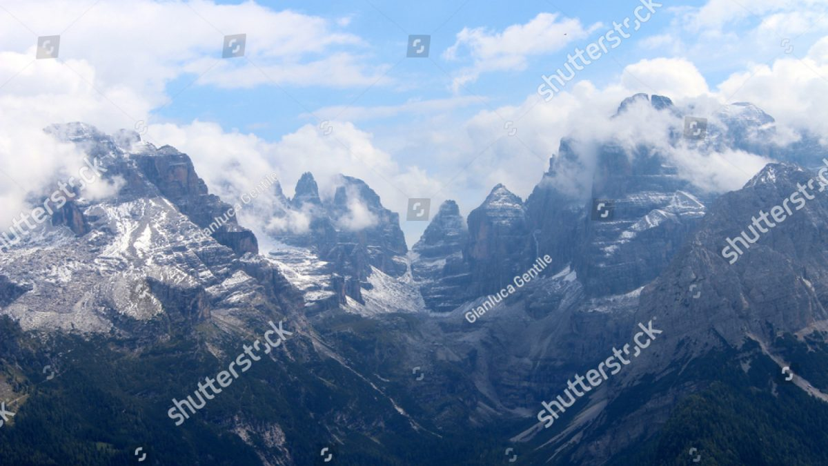 - stock photo the tallest peaks of the trentino unbelievable sight 1031581006 1200x675 - The tallest peaks of the Trentino, unbelievable sight
