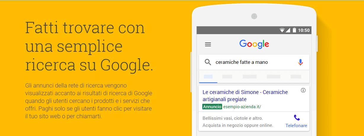 annuncio di testo in google adwords - Composizione di un annuncio di testo in Google Adwords esempio - Composizione di un annuncio di testo in Google Adwords
