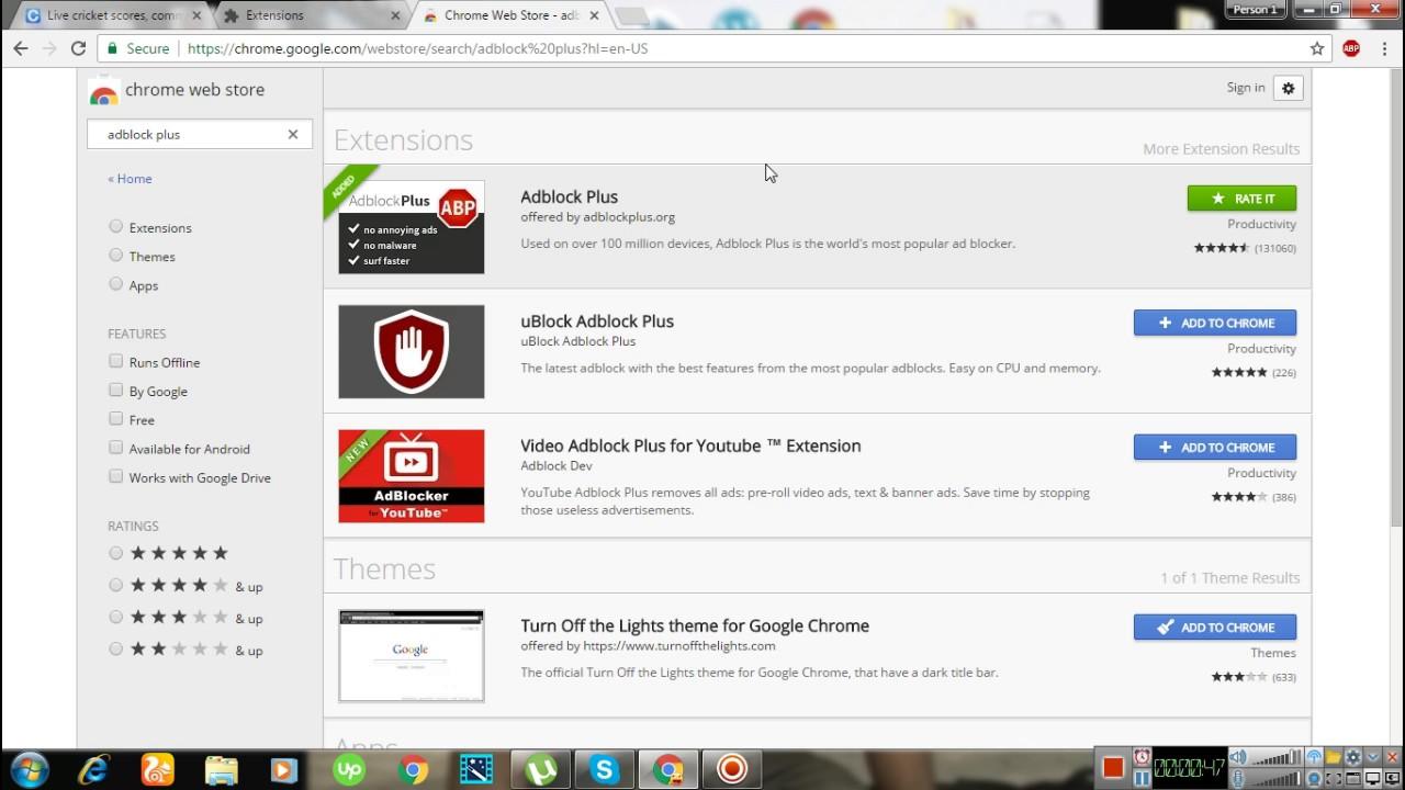 - Ad Block Google Chrome - I software di blocco degli annunci