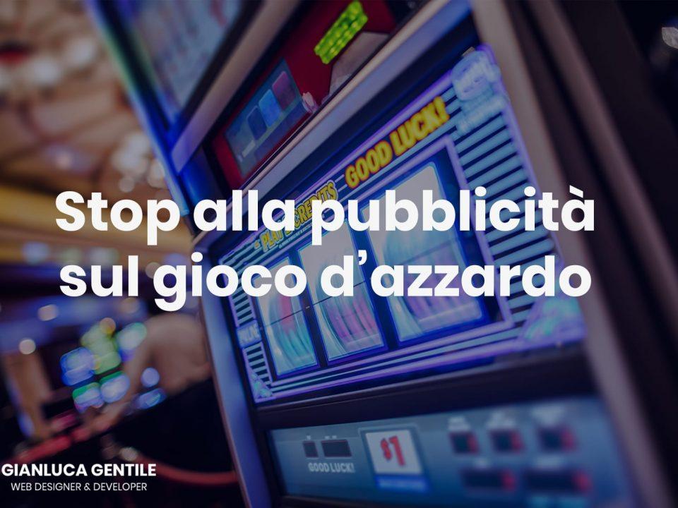 stop pubblicità gioco d'azzardo - Stop pubblicit   gioco dazzardo molte le incongruenze 960x720 - Stop pubblicità gioco d'azzardo, molte le incongruenze