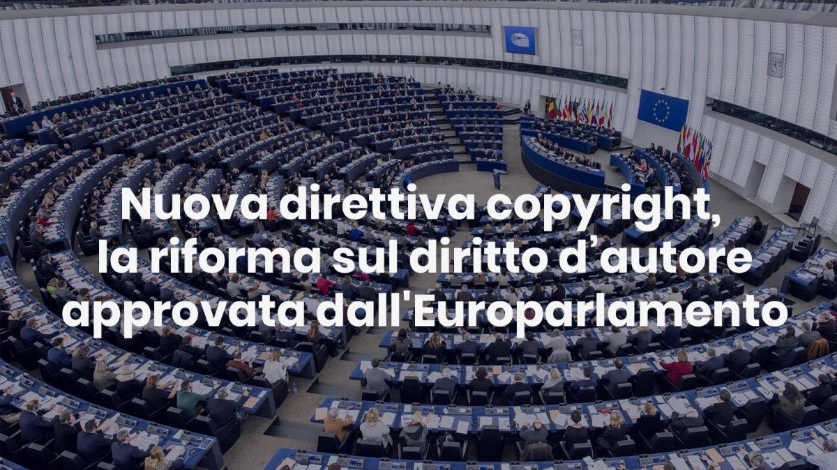 Nuova direttiva copyright, la riforma sul diritto d'autore approvata dall'Europarlamento nuova direttiva copyright - Nuova direttiva copyright la riforma sul diritto d   autore approvata dallEuroparlamento 1200x675 - Nuova direttiva copyright, la riforma sul diritto d'autore approvata dall'Europarlamento
