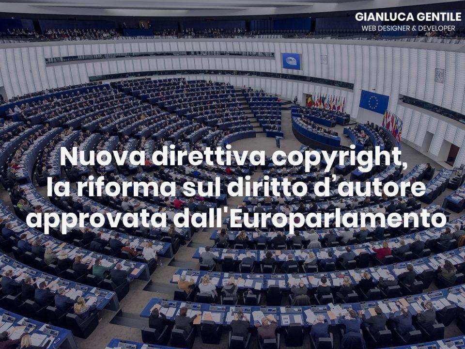 Nuova direttiva copyright, la riforma sul diritto d'autore approvata dall'Europarlamento nuova direttiva copyright - Nuova direttiva copyright la riforma sul diritto d   autore approvata dallEuroparlamento 960x720 - Nuova direttiva copyright, la riforma sul diritto d'autore approvata dall'Europarlamento
