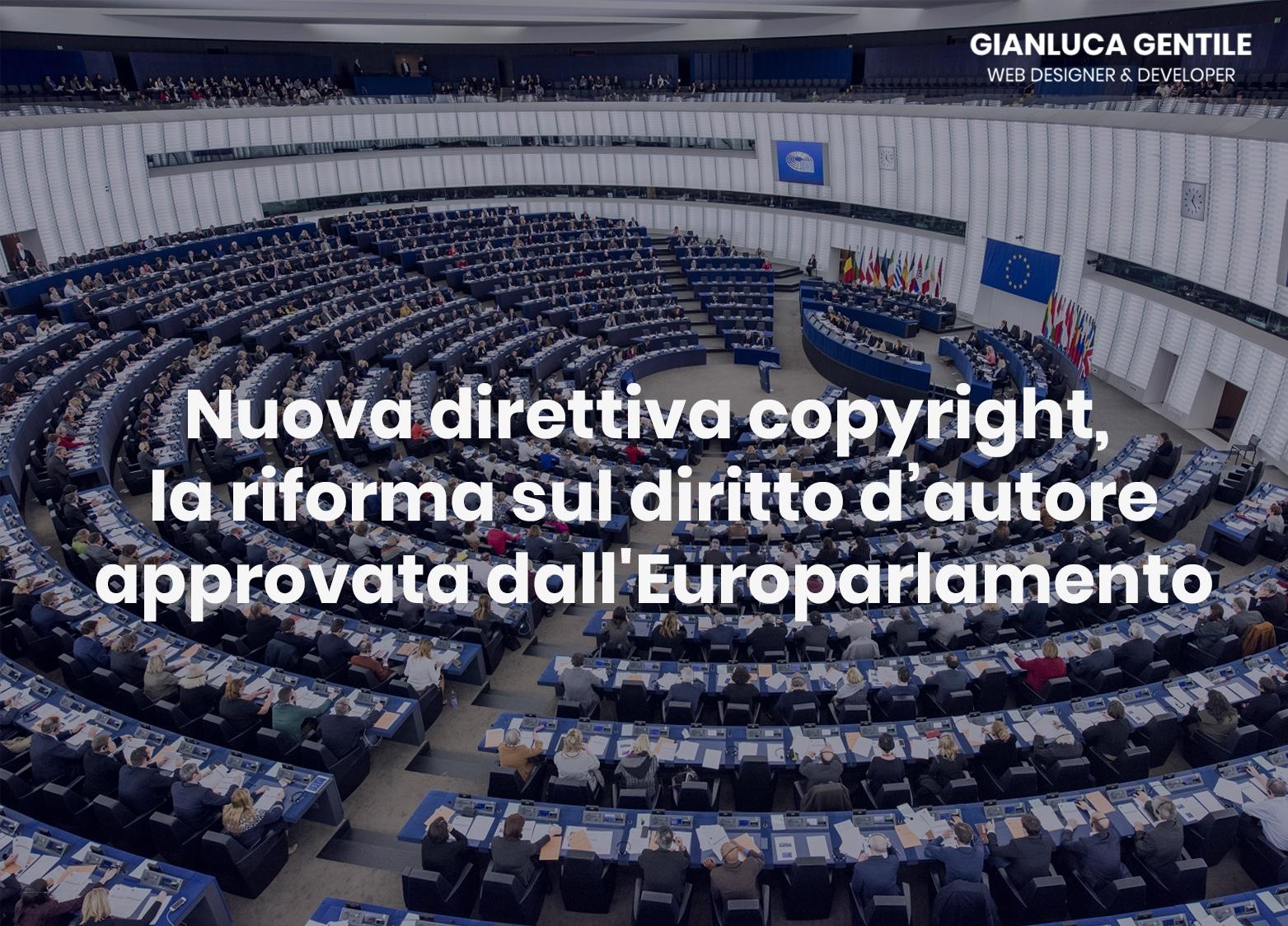 Nuova direttiva copyright, la riforma sul diritto d'autore approvata dall'Europarlamento nuova direttiva copyright - Nuova direttiva copyright la riforma sul diritto d   autore approvata dallEuroparlamento - Nuova direttiva copyright, la riforma sul diritto d'autore approvata dall'Europarlamento
