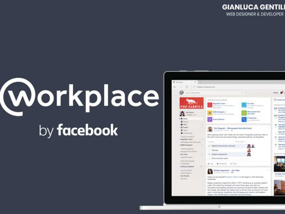 facebook workplace - Facebook Workplace per il Non Profit 960x720 - Facebook Workplace per il Non Profit