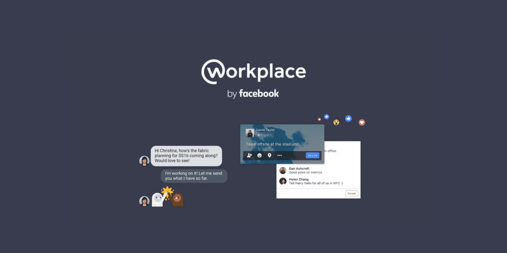 facebook workplace - Facebook Workplace per il Non Profit come funziona - Facebook Workplace per il Non Profit