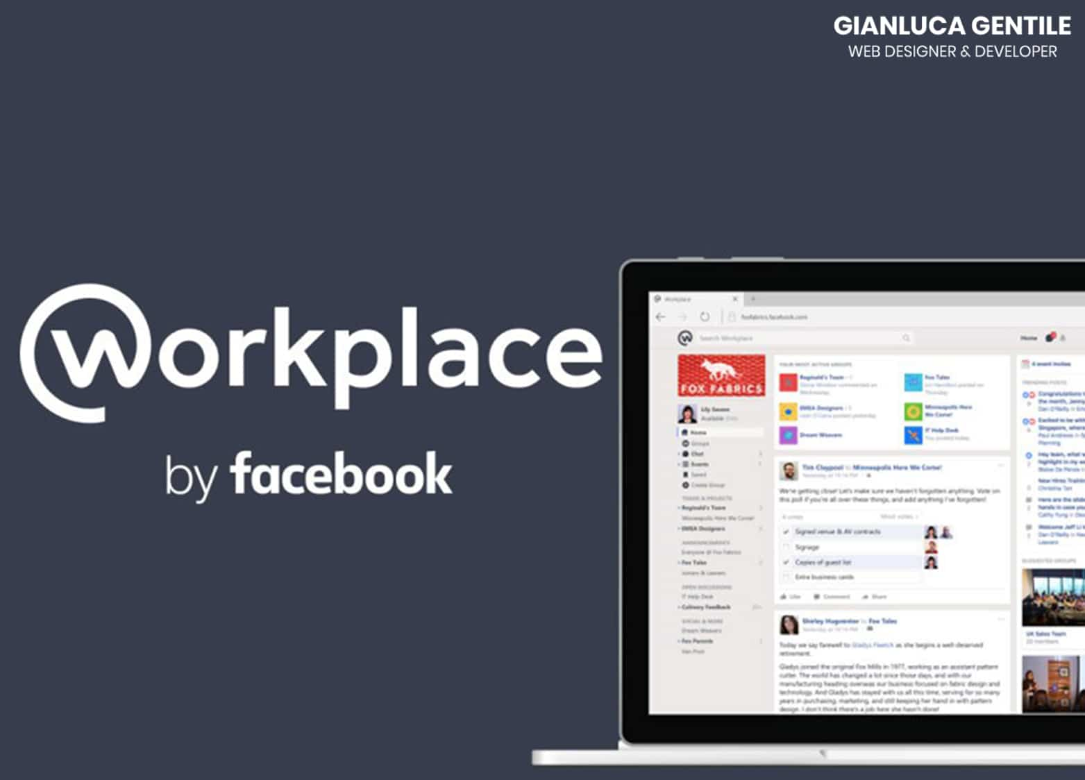 facebook workplace - Facebook Workplace per il Non Profit - Facebook Workplace per il Non Profit