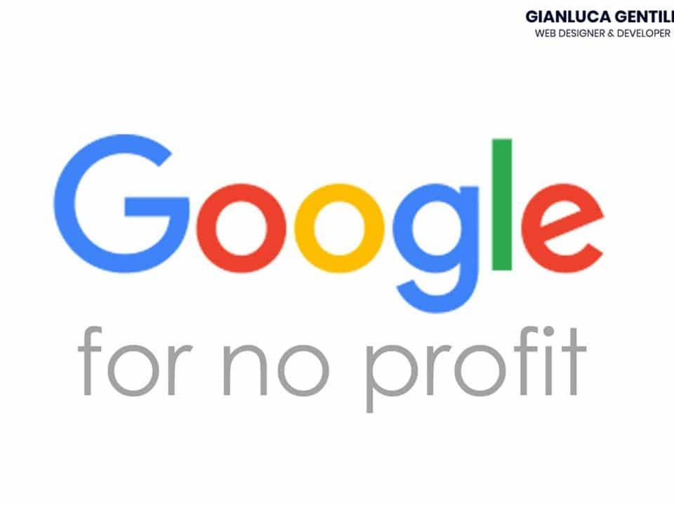 google per il non profit - Google per il non profit quali sono i vantaggi 960x720 - Google per il non profit servizi gratuiti