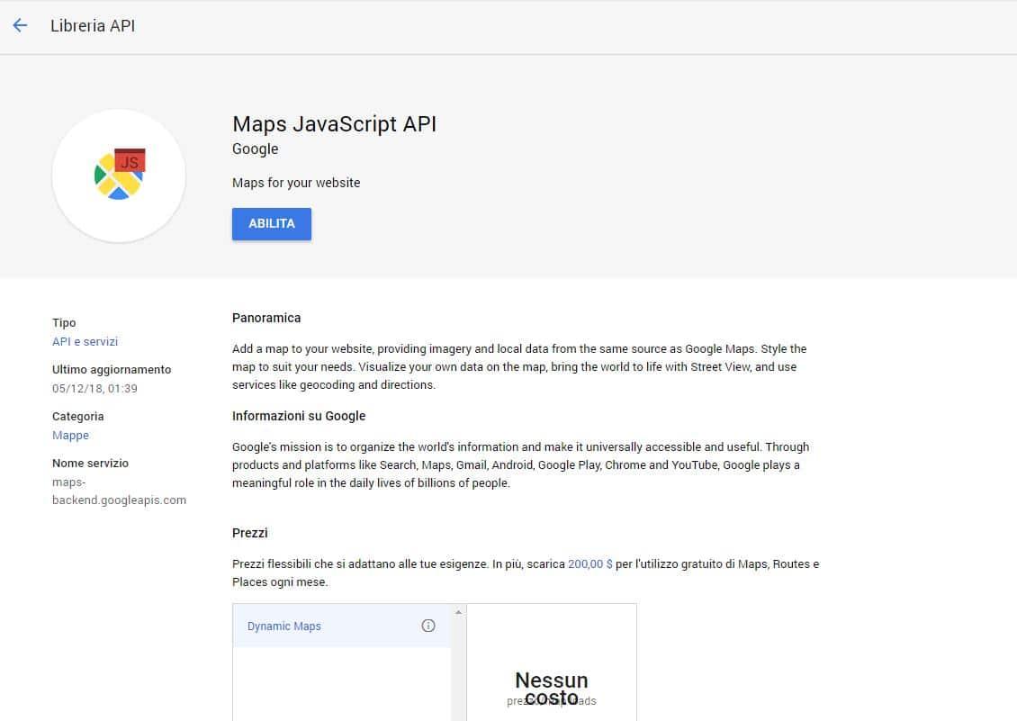api google cosa sono - API Google cosa sono e come funzionano Google Maps Javascript API - API Google cosa sono e come funzionano