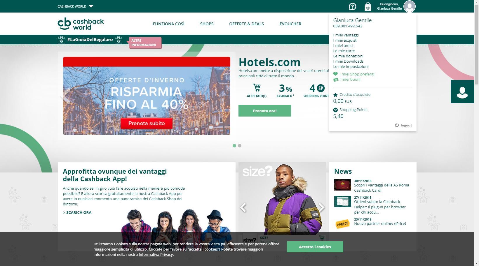 sito cashback - CashBack World come funziona - Sito Cashback: affidabilità e convenienza con Cashback World
