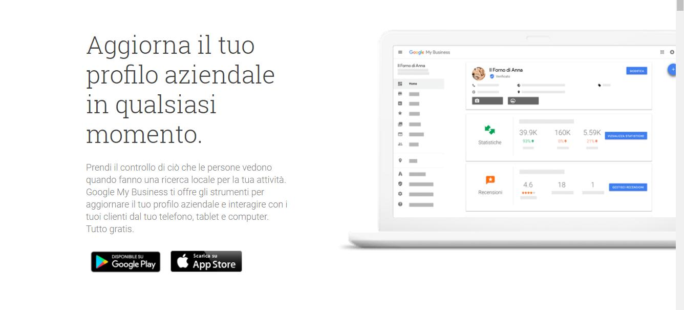 Come gestire il proprio account Google My Business gestione google my business - Ecco come funziona Google My Business - Come gestire il proprio account Google My Business