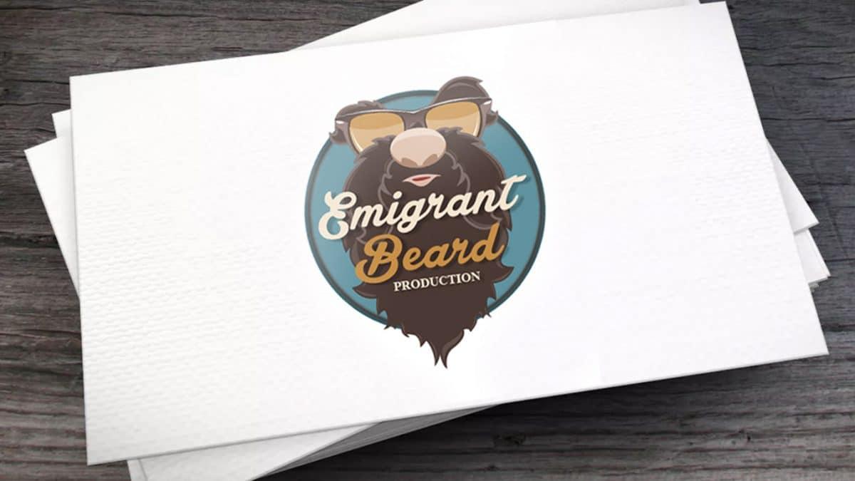 - logo Emigrant beard 1200x675 - Logo Emigrant beard