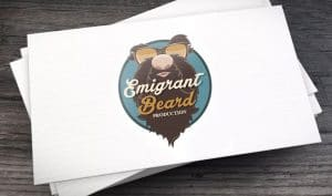 - logo Emigrant beard 300x177 - logo Emigrant beard