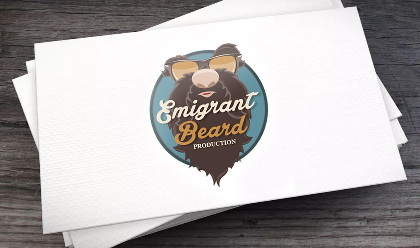 - logo Emigrant beard - Logo Emigrant beard