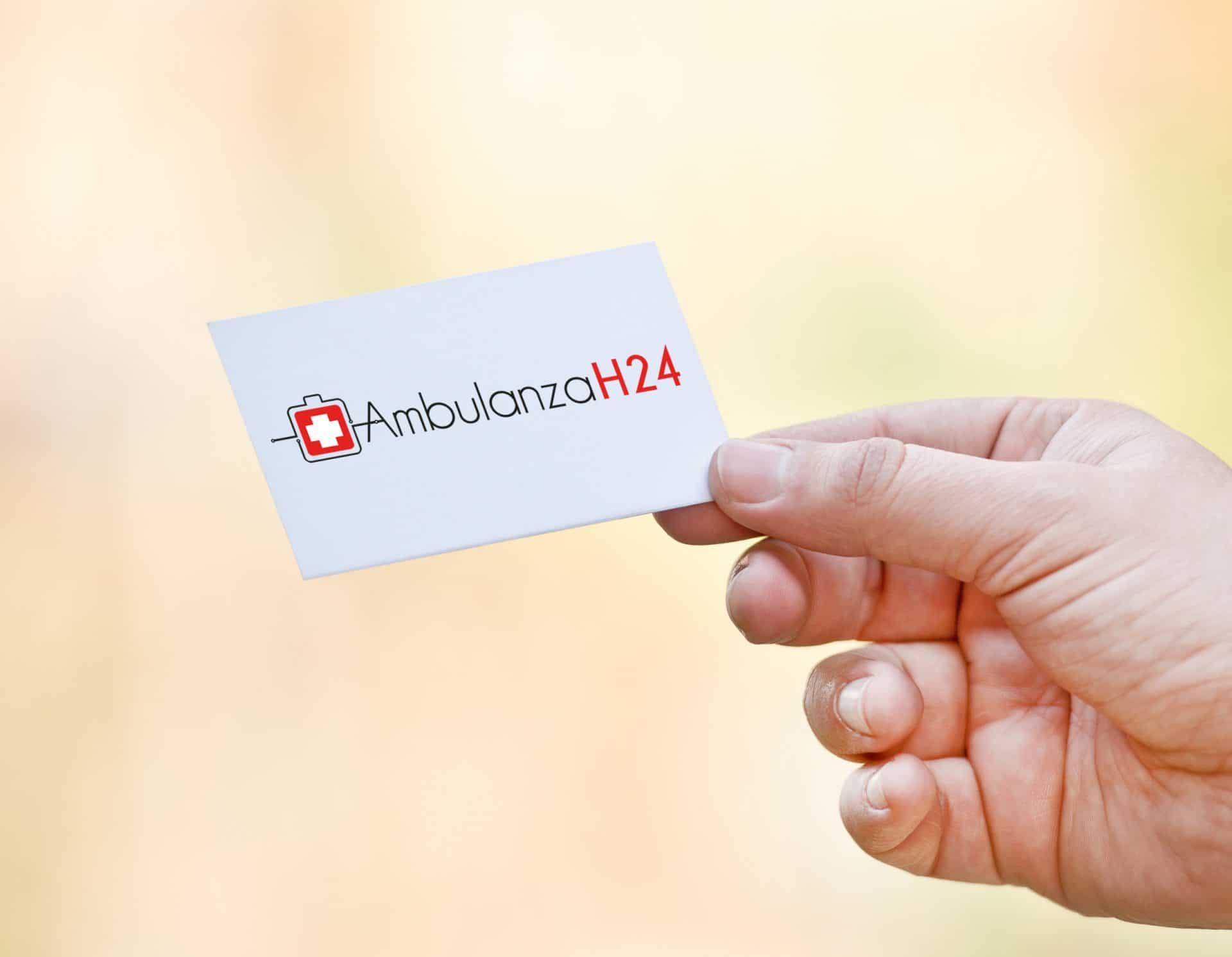 - logo ambulanza 24h - Logo Ambulanza 24h