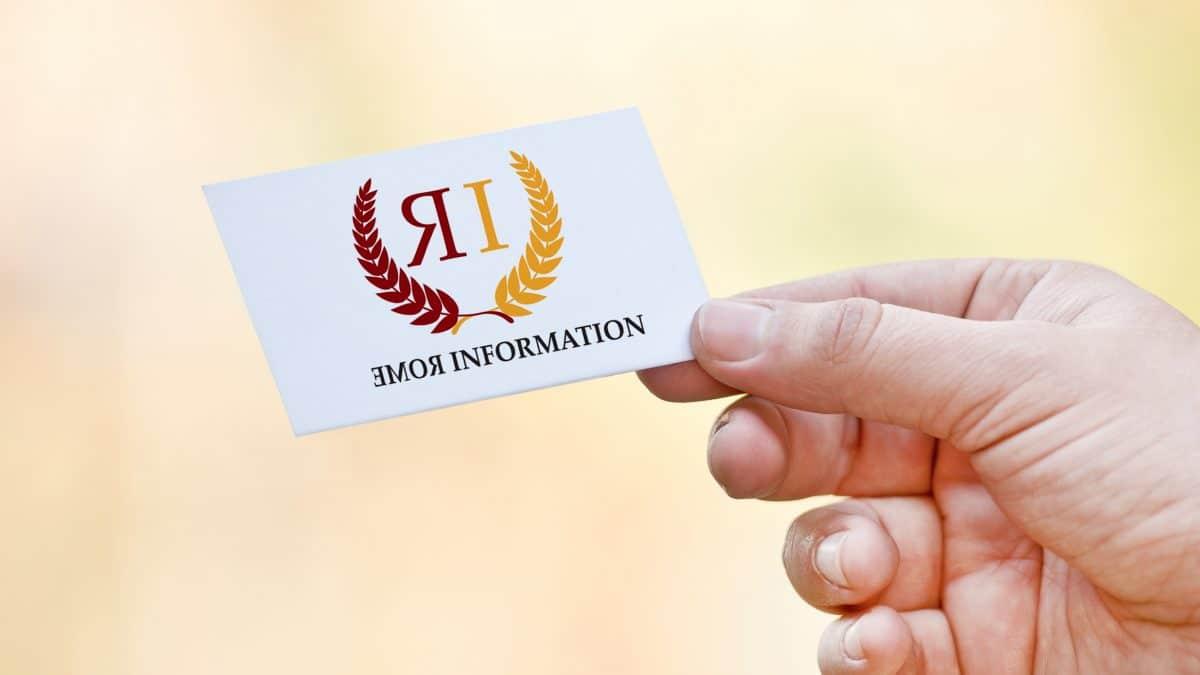 - logo rome information 1200x675 - Logo Rome information