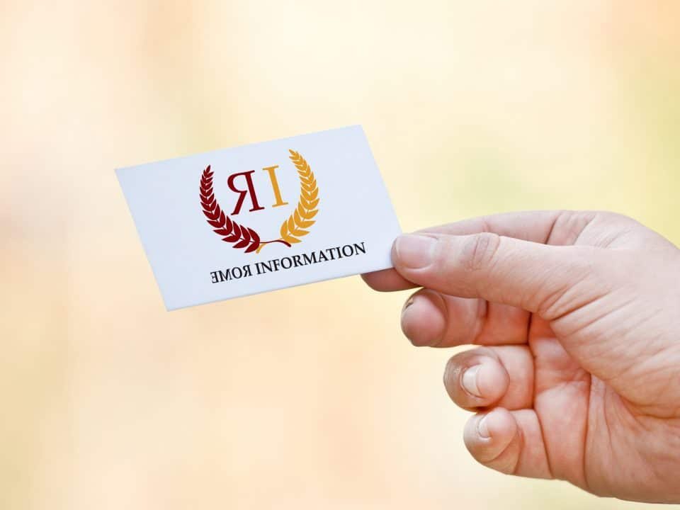 - logo rome information 960x720 - Logo Rome information
