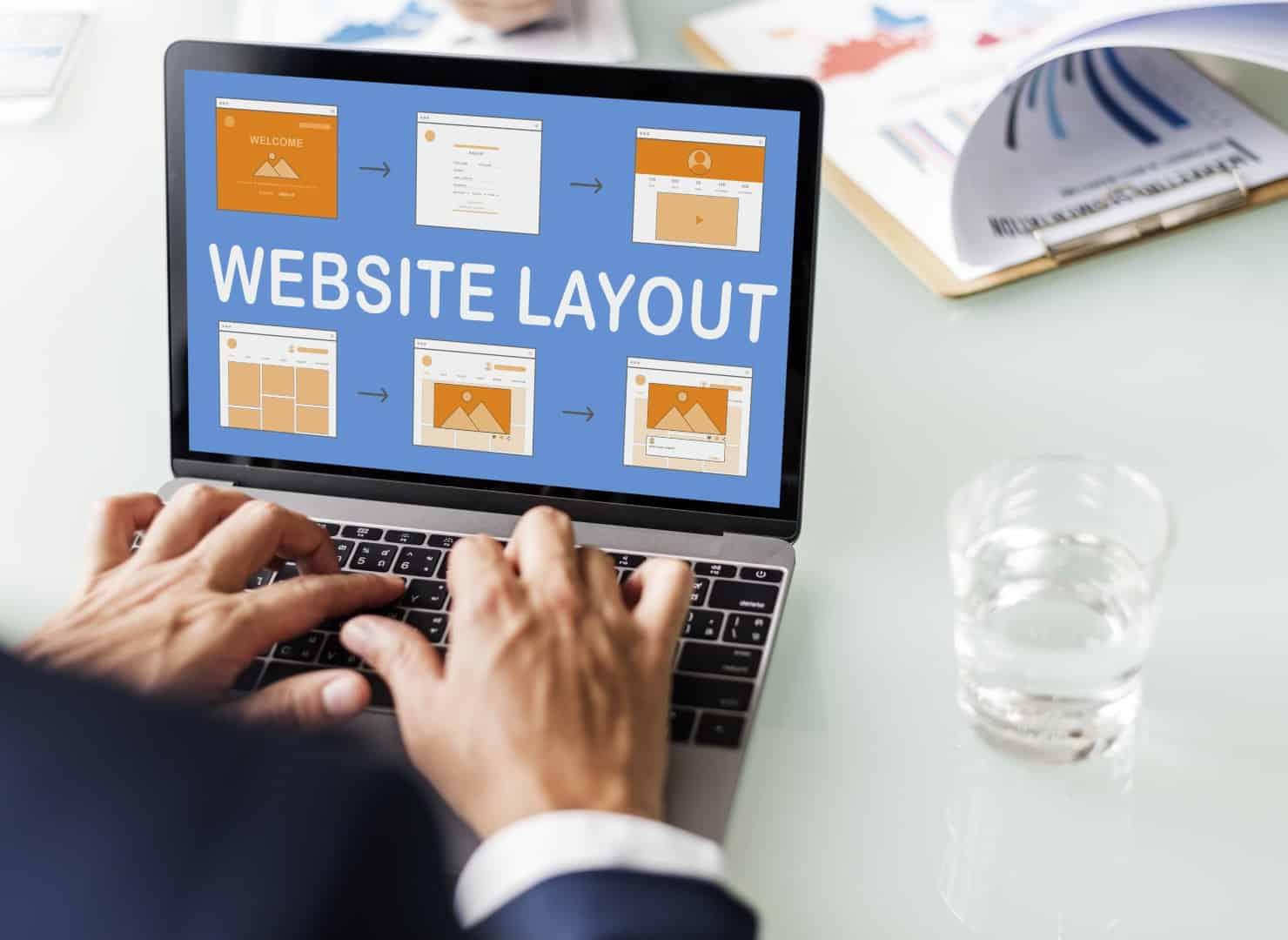 grafica web - web template website design concept PZMWPL6 Grande - Grafica web, organizza al meglio l'interfaccia del tuo sito