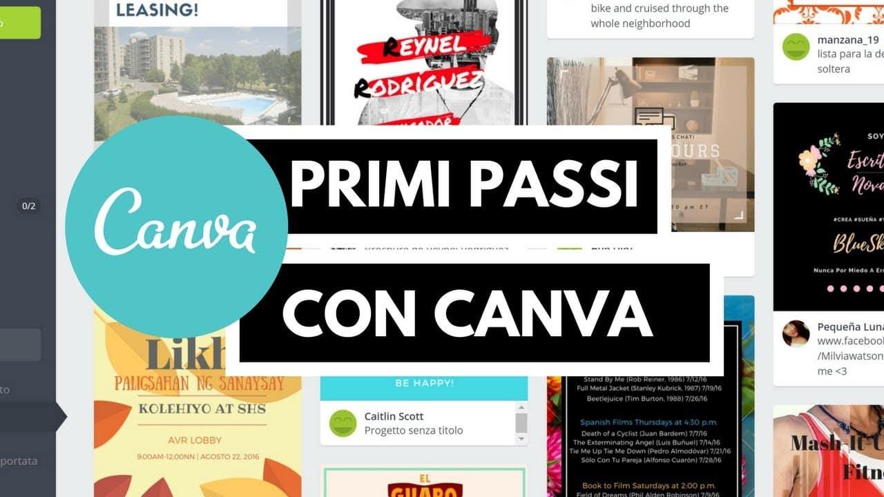 creare volantino pubblicitario - Canva il sistema gratuito per creare il tuo volantino online Gianluca Gentile - Creare volantino pubblicitario con i migliori software e siti online