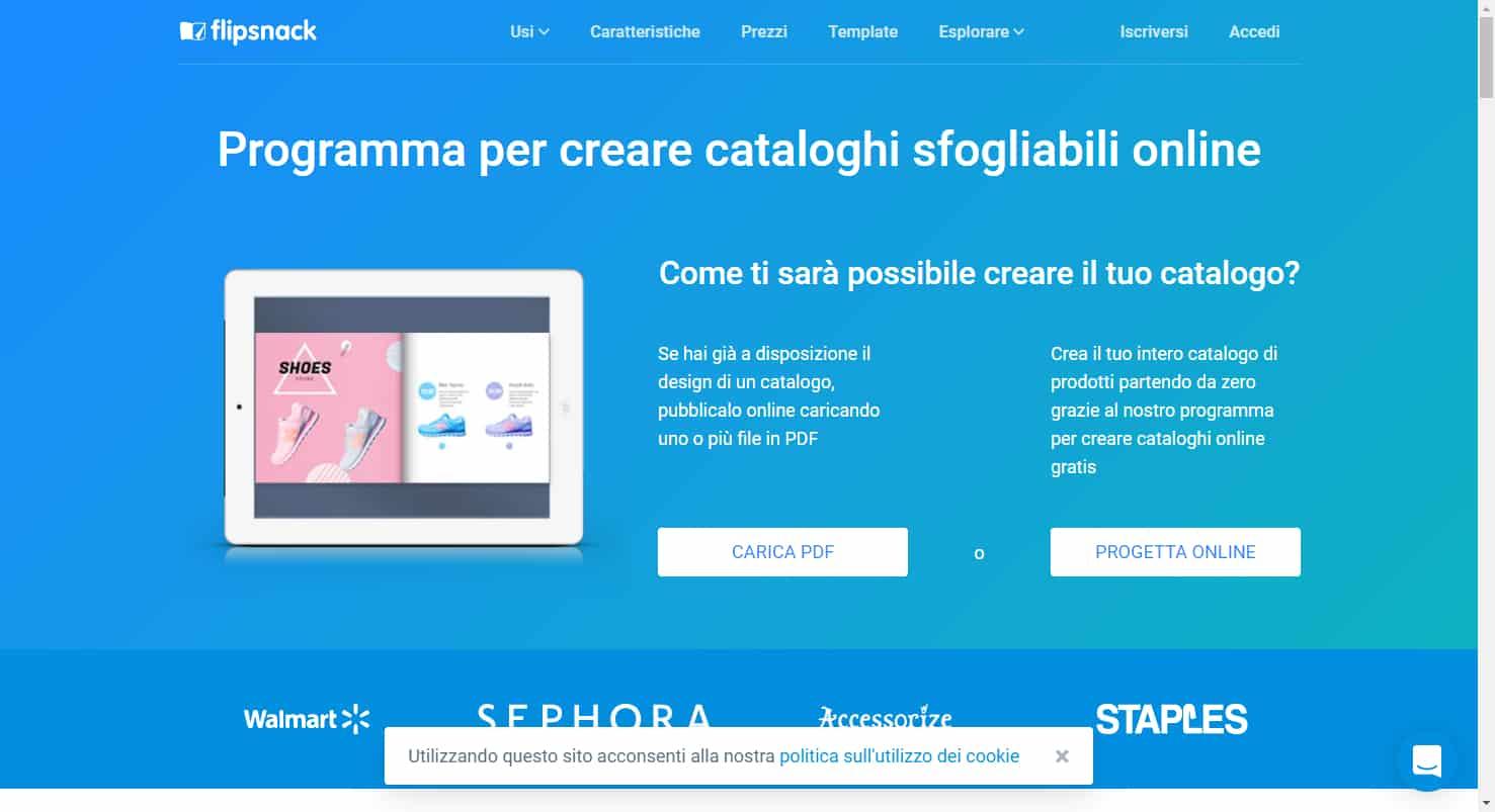 creare cataloghi - Creare cataloghi digitali all   interno del proprio sito web con Flipsnack - Creare cataloghi digitali all'interno del proprio sito web
