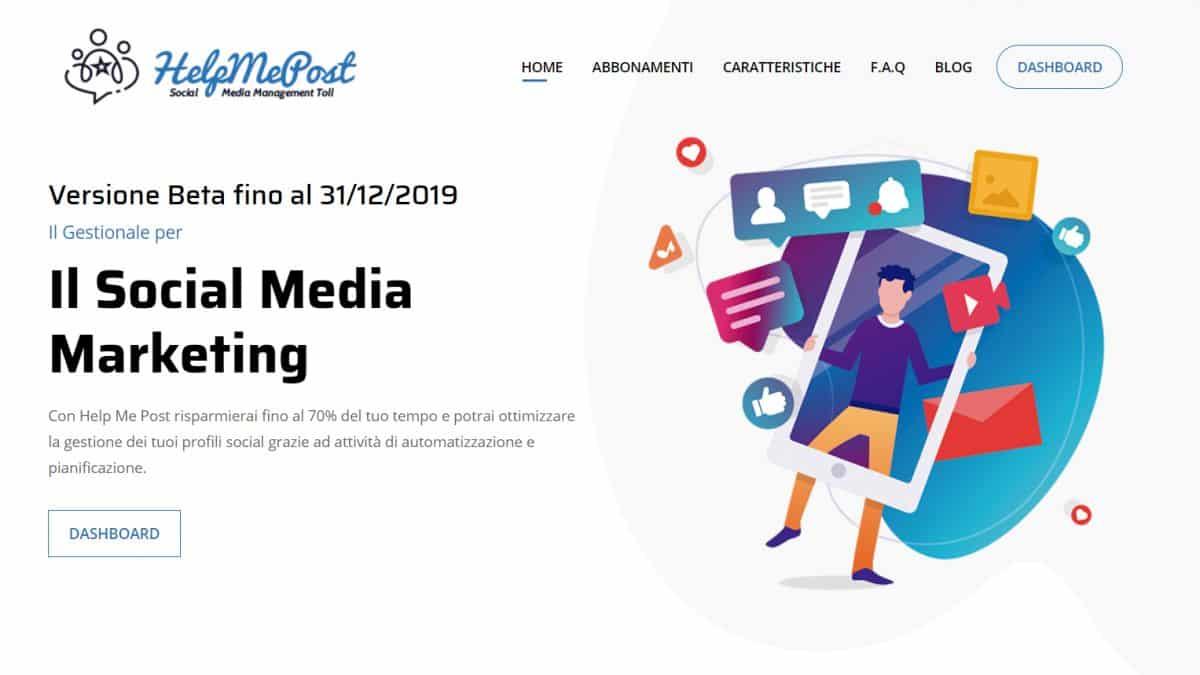 social media manager - Help me post Social Media Management Cloud Tool 14 1200x675 - Social media manager tool con Help Me Post