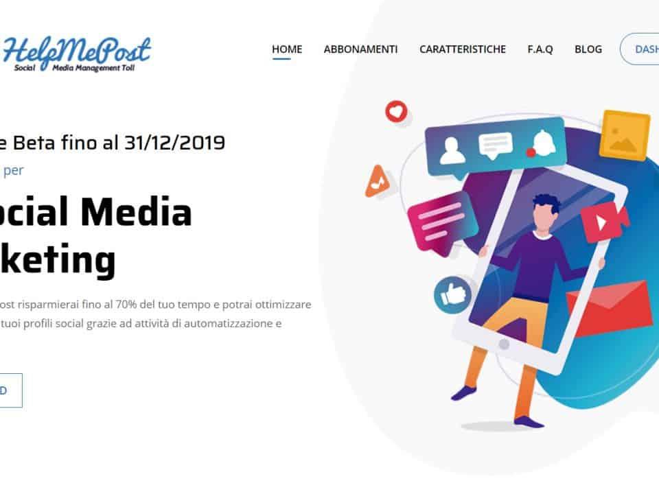 social media manager - Help me post Social Media Management Cloud Tool 14 960x720 - Social media manager tool con Help Me Post
