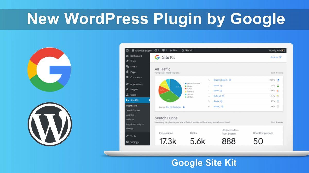 site kit - Site Kit Google 1200x675 - Site Kit, il plugin per WordPress prodotto da Google