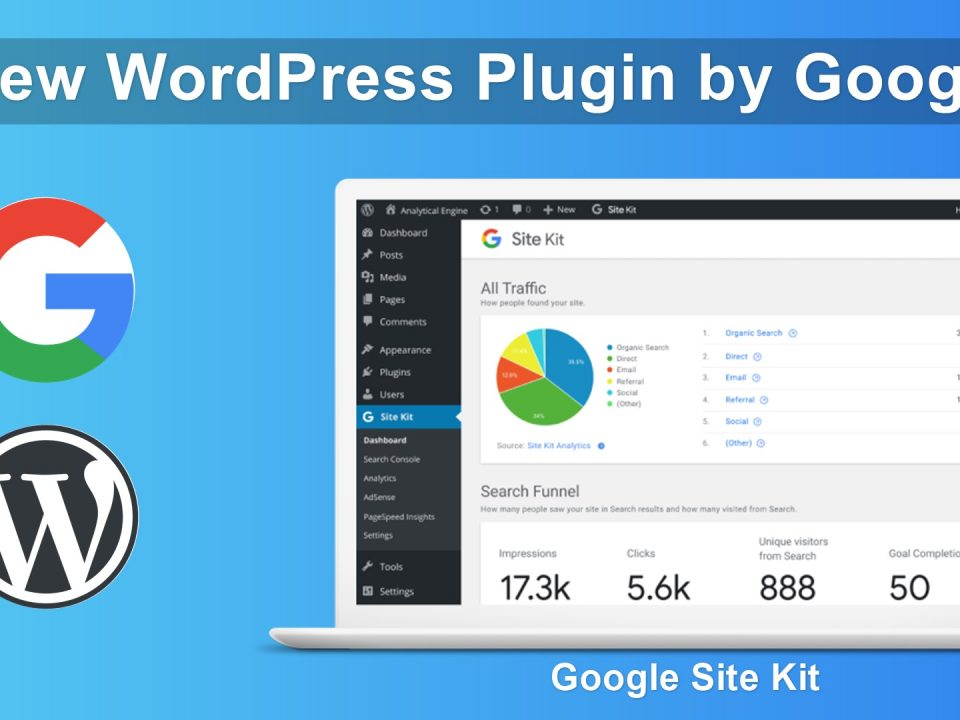site kit - Site Kit Google 960x720 - Site Kit, il plugin per WordPress prodotto da Google