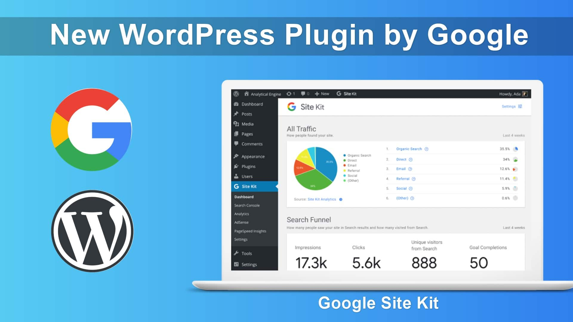 site kit - Site Kit Google - Site Kit, il plugin per WordPress prodotto da Google